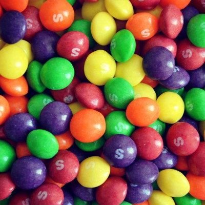 Skittelsówka Skittles prezent urodziny