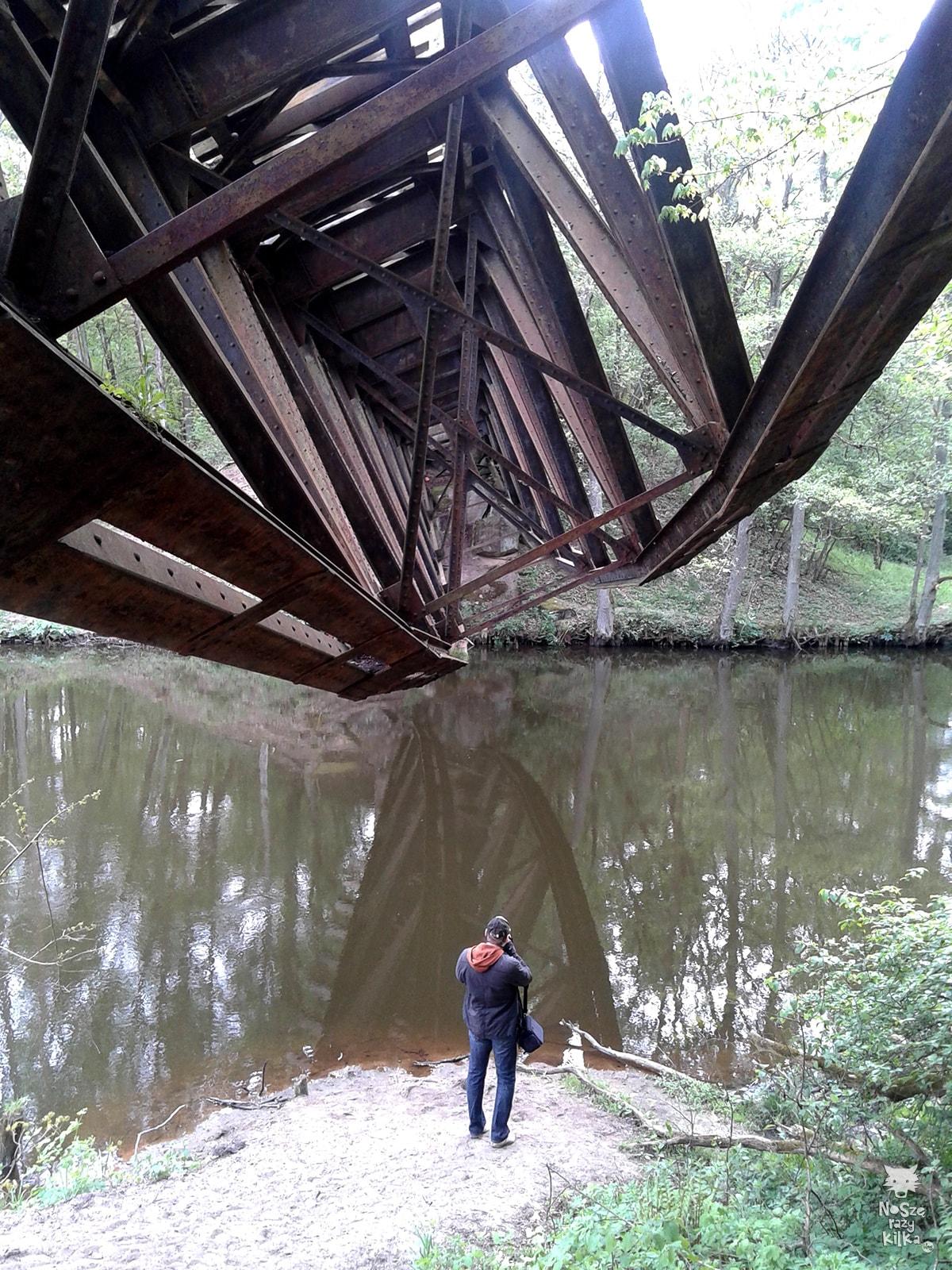most na rzece Gwda