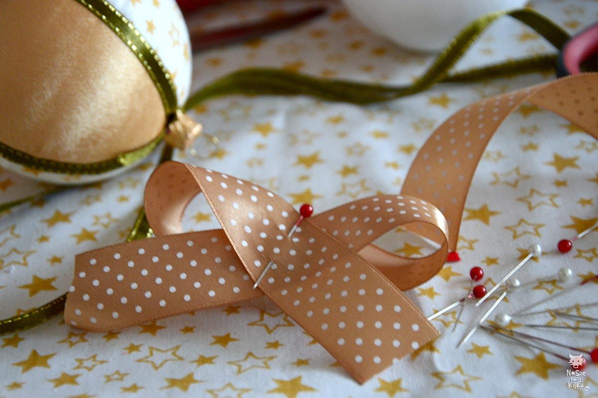 świąteczna bombki handmade diy