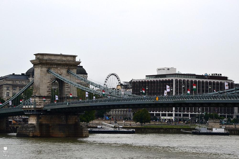 Węgry Budapeszt Most Łańcuchowy