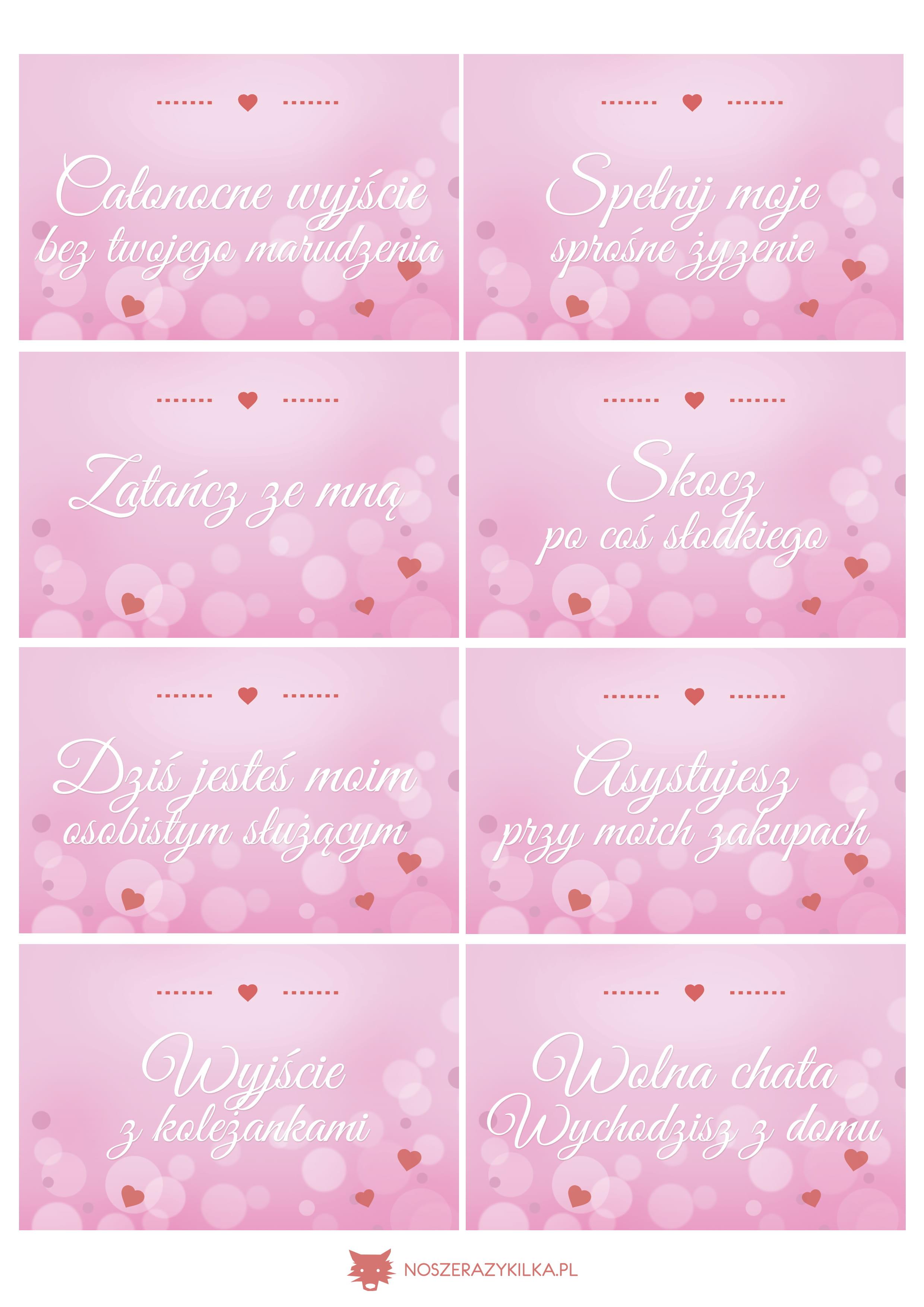 Talony Walentynki