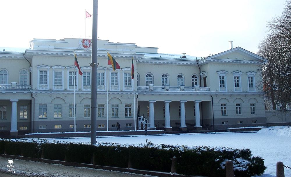 Via Baltica Litwa Wilno Pałac prezydencki