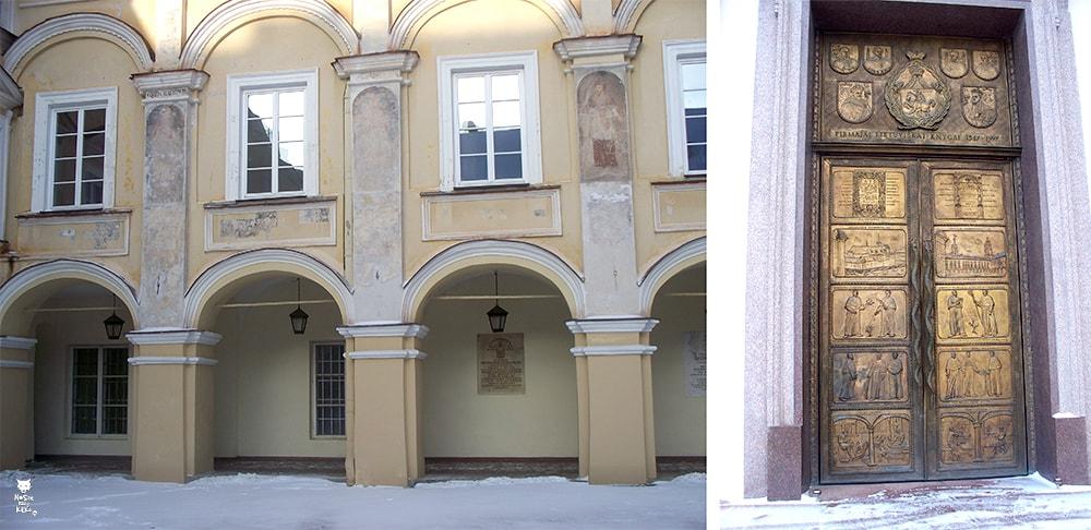Via Baltica Litwa Wilno Uniwersytet Wileński