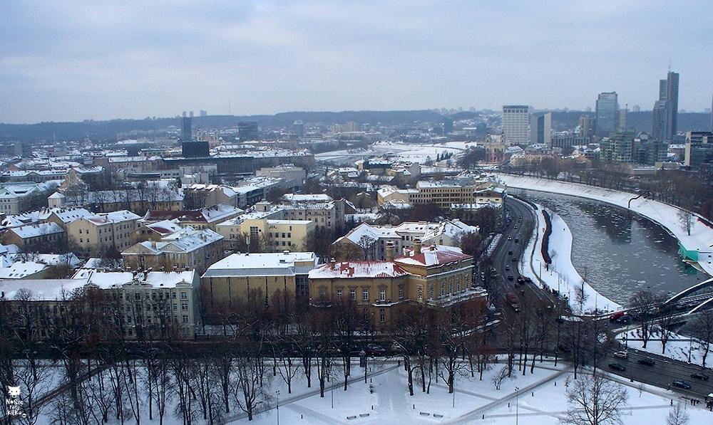 Via Baltica Litwa Wilno Wzgórze Giedymina