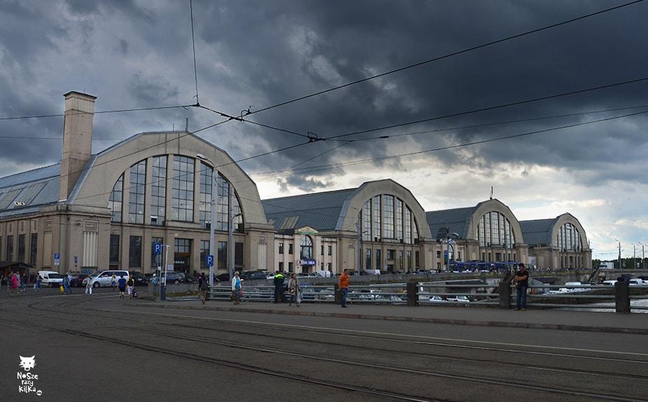 Łotwa Ryga Centraltargus