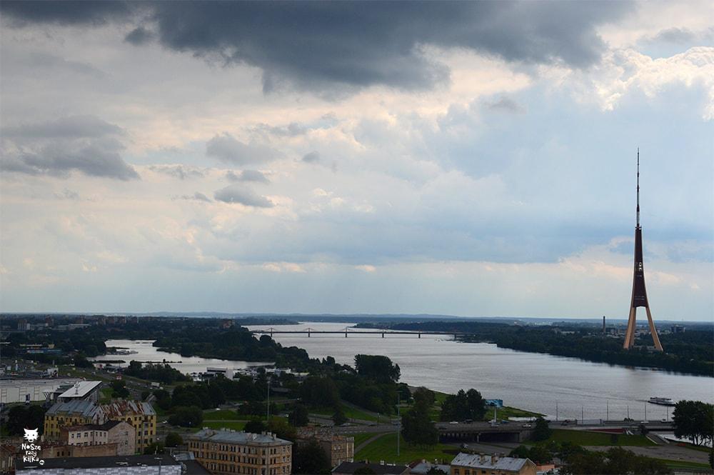Łotwa Ryga Wieża Telewizyjna