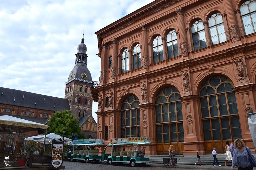 Łotwa Ryga Plac Katedralny Katedra