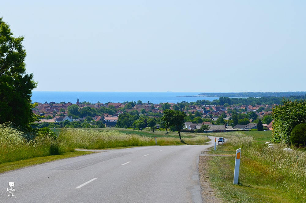 Bornholm rowerem Dania Bałtyk