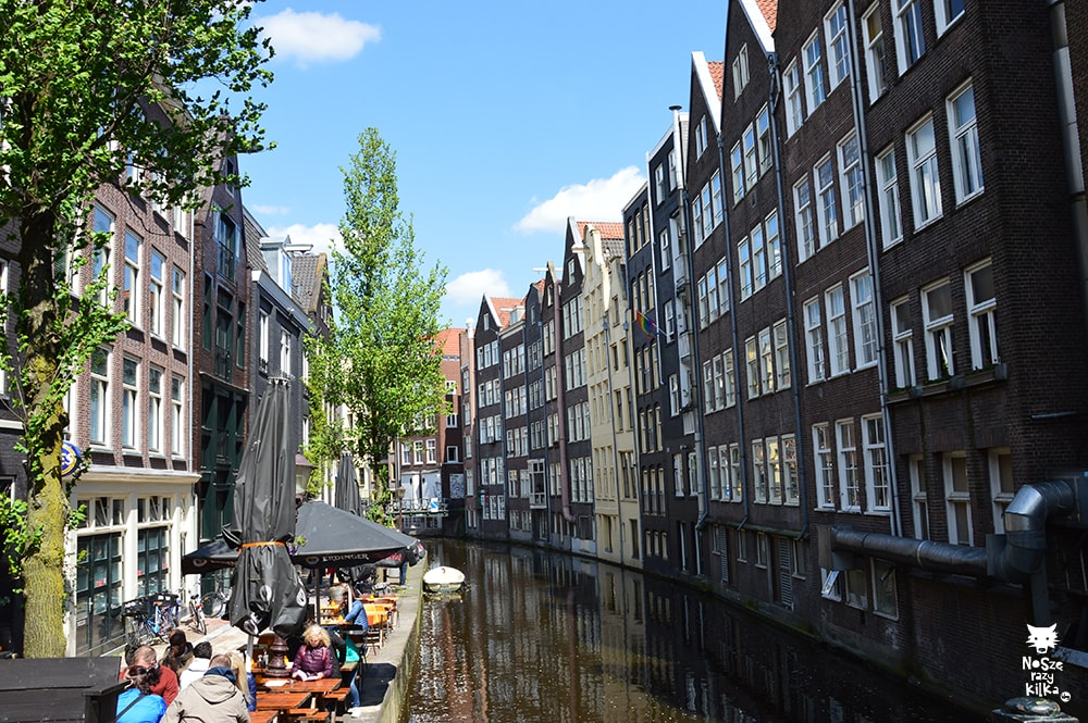 Holandia Amsterdam Dzielnica Czerwonych Latarni