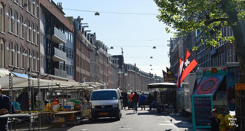 Holandia Amsterdam albert cuyp market