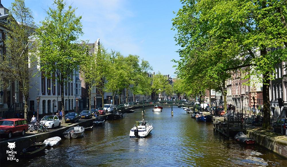Holandia Amsterdam kanały