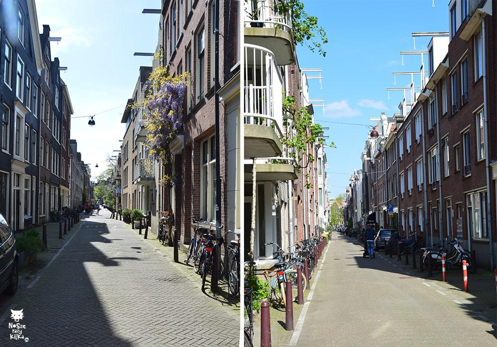 Holandia Amsterdam kamienice