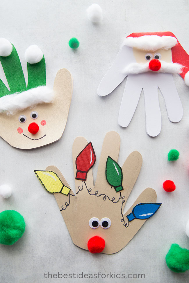 Christmas-Handprint-Cards