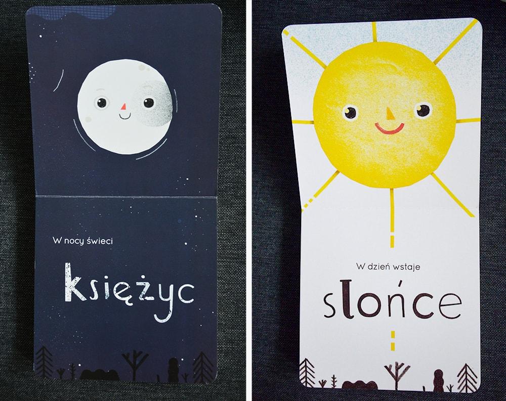 """Książki dla dzieci w wieku 0 - 2 lat """"Popatrz w niebo 2"""" Joanna Gębal, Monika Zborowska, Wydawnictwo Muchomor"""