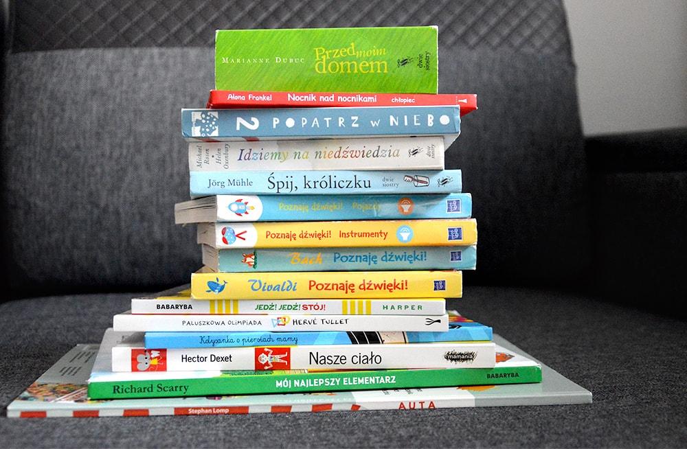 Książki dla dzieci 0 - 2 lat