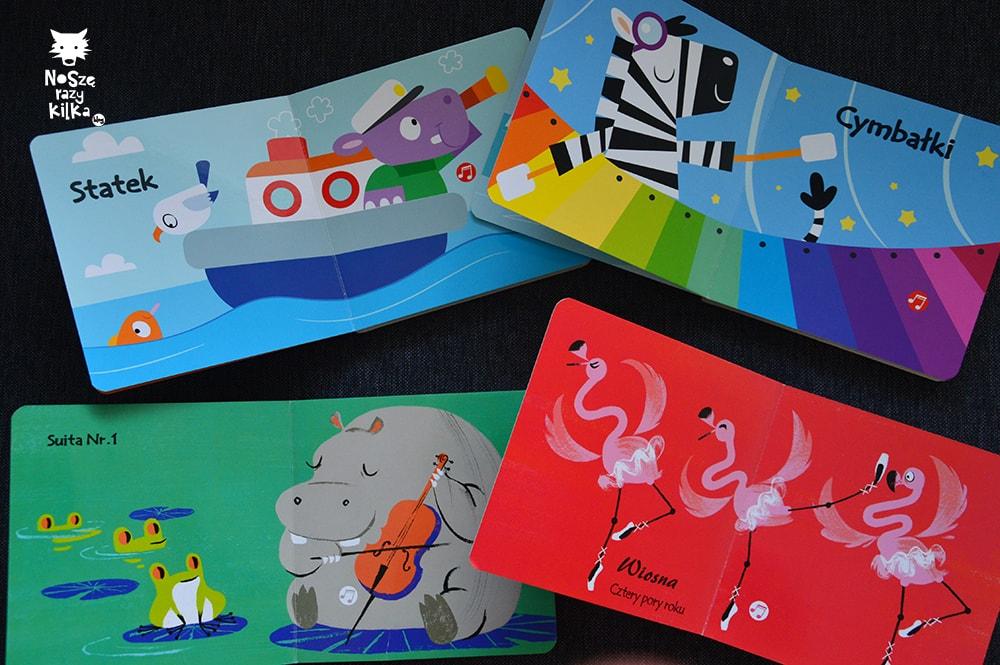 """Książki dla dzieci w wieku 0 - 2 lat """"Poznaję dźwięki"""" praca zbiorowa, Wydawnictwo Yoyo Books"""