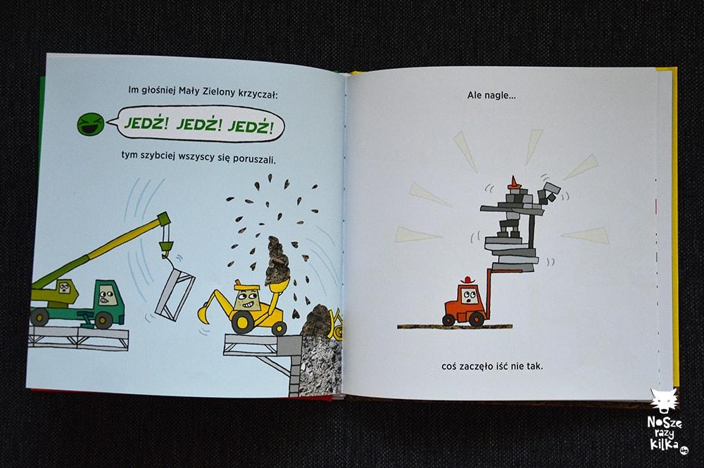 Książki dla dzieci 0 - 2 lat Jedź, jedź, stój, Charise Mericle Harper BABARYBA