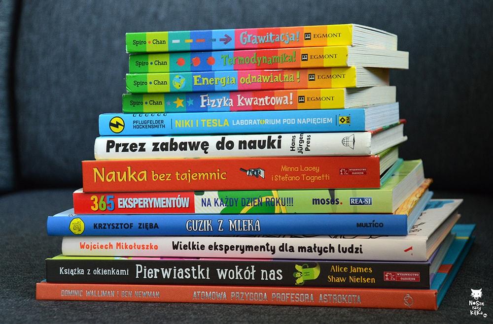 Książki naukowe dla dzieci - nauka i eksperymenty