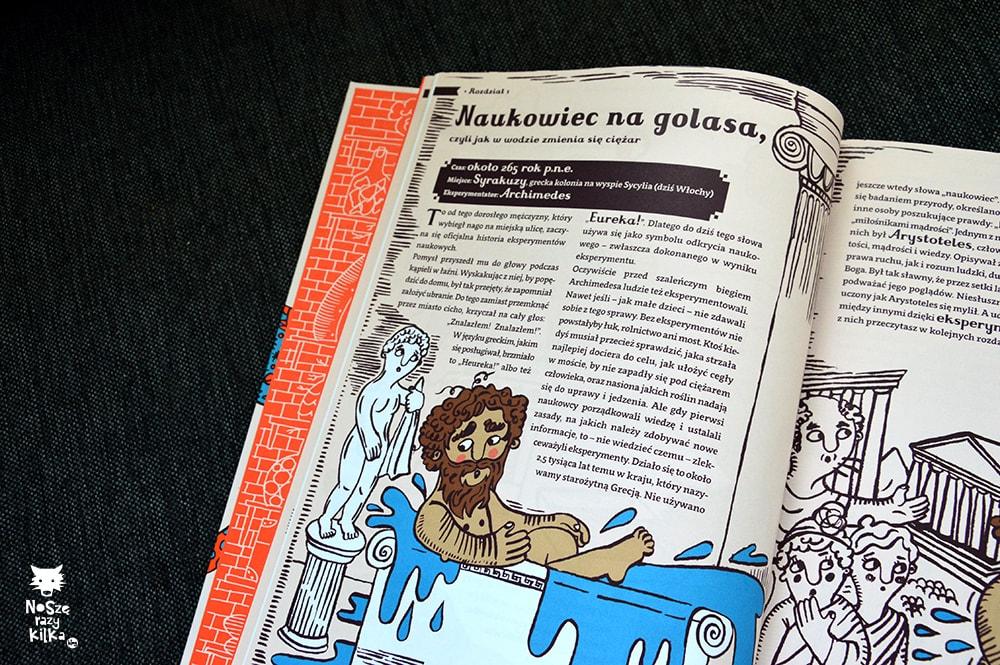 """""""Wielkie eksperymenty dla małych ludzi"""" W. Mikołuszko, J. Rzezak, wyd. Agora"""