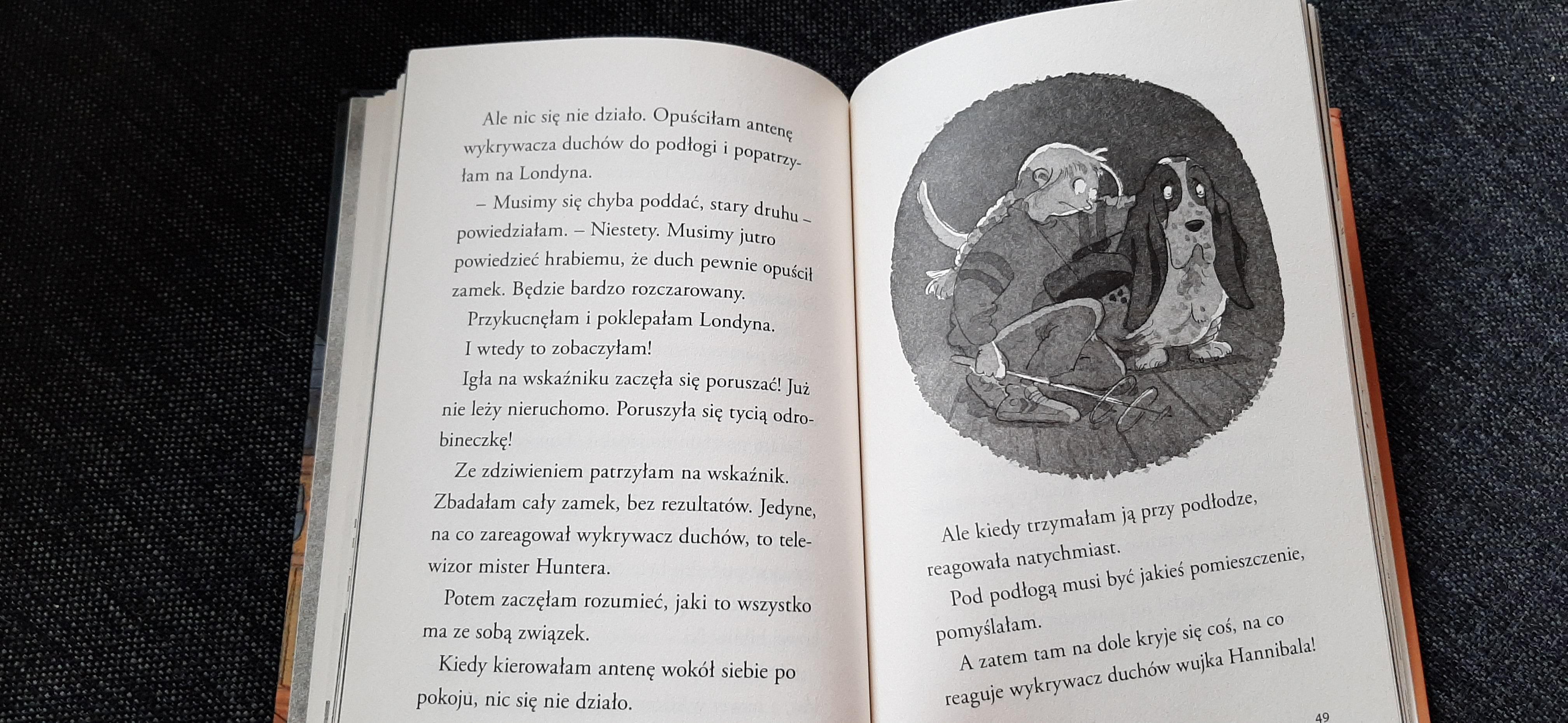 Nelly Rapp i Upiorna Akademia, Widmark, Mamania