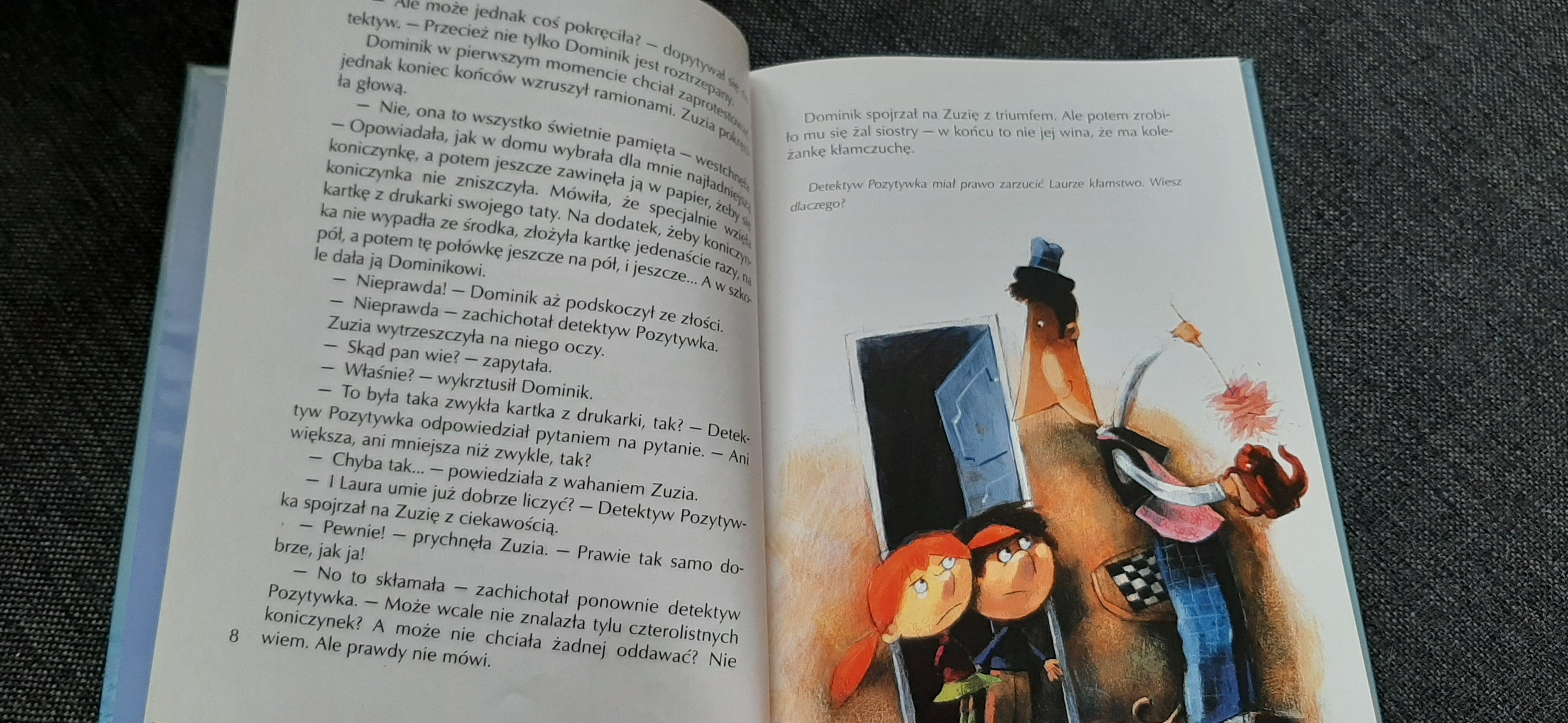 Pamiątki Detektywa Pozytywki, Kasdepke, Nasza Księgarnia