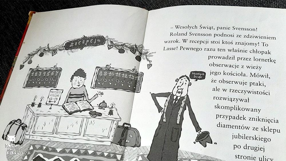 Biuro detektywistczne Lassego i Mai. Tajemnica hotelu Widmark Zakamarki