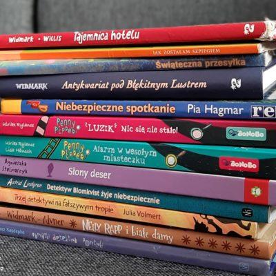 książki detektywistyczne dla dzieci