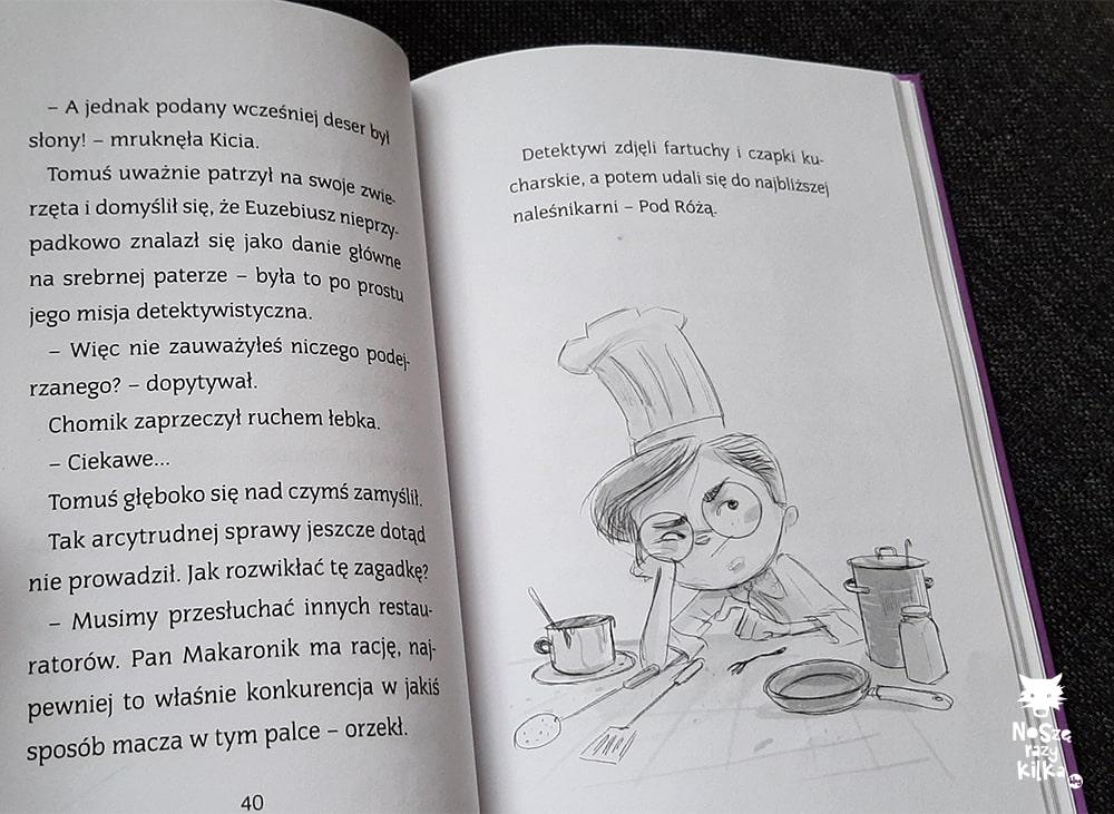 Biuro Śledcze Tomuś Orkiszek i partnerzy. Słony deser, Stelmaszyk, Zielona Sowa