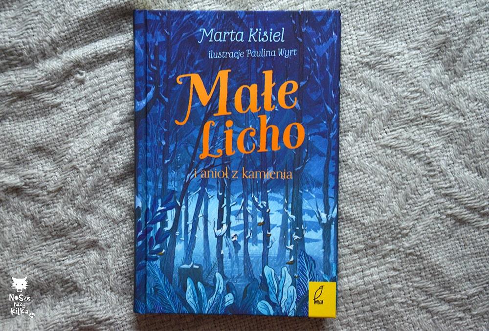 """""""Małe Licho i anioł z kamienia"""", M. Kisiel, wyd. Wilga"""