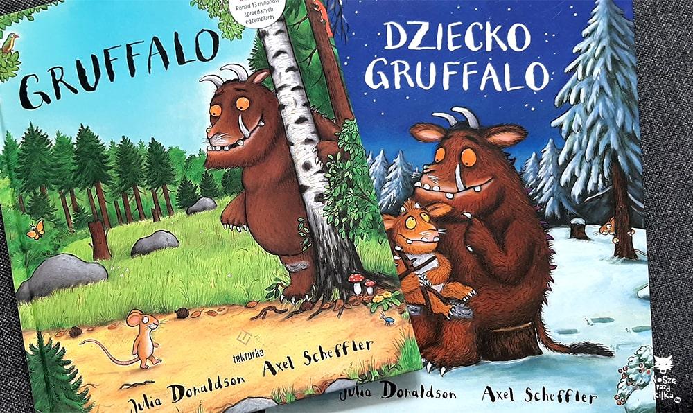 """""""Gruffalo"""" Julia Donaldson, wyd. Tekturka"""