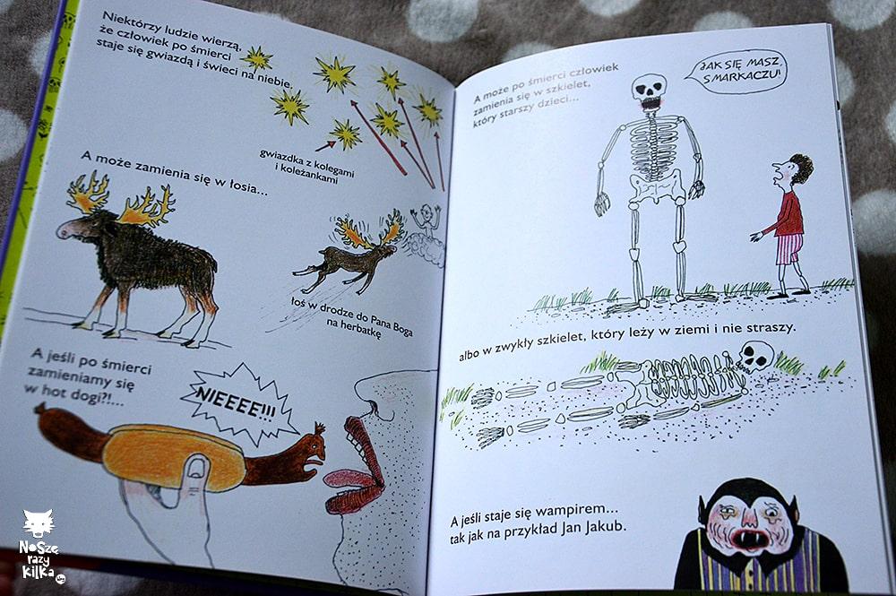"""""""Mała książka o śmierci"""" Pernilla Stalfelt, wyd. Czarna Owca"""